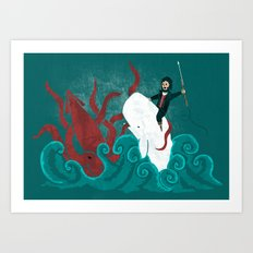 Dangerous Waters Art Print