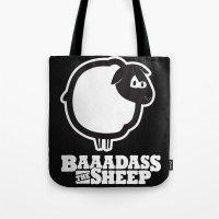 Baaadass the Sheep Tote Bag