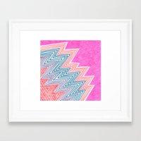 ZagaZag Framed Art Print