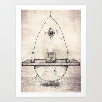 Tarot: I - The Magician Art Print