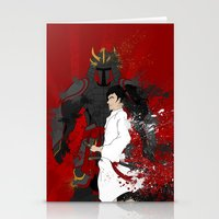 Samurai Warrior Stationery Cards