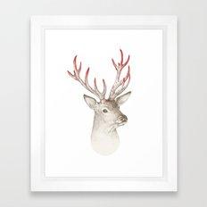 Not So Deer Framed Art Print