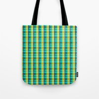 Lumberjack Attack! Plaid Tote Bag