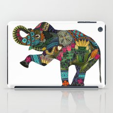 asian elephant white iPad Case