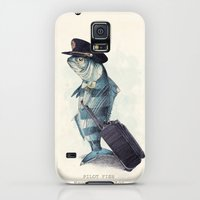 Galaxy S5 Cases featuring The Pilot by Eric Fan