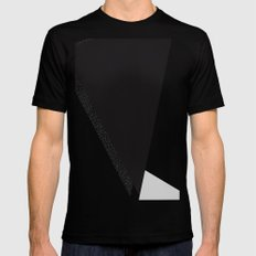 Minimal Complexity v.3 SMALL Black Mens Fitted Tee