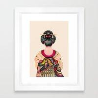 Japanese - Original  Framed Art Print