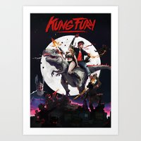 Kung Fury - fan poster Art Print