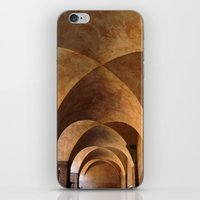 Symmetrical ceiling in Rome. iPhone & iPod Skin