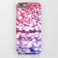 glitter iPhone & iPod Cases featuring Pink Purple Blue Glitter by WhimsyRomance&Fun