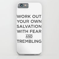 iPhone & iPod Case featuring fear & trembling, brothers. by josh tomlinson