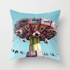 Fly. Throw Pillow