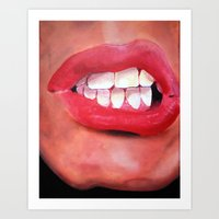 Oral Fixation 1.1 Art Print