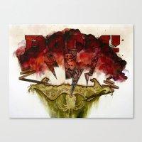 The Storm Canvas Print