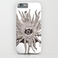 iPhone & iPod Case featuring Ink'd Kraken by ḋαɾќṡhαḋøώ .