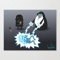 Adventure Wars (Coloured) Canvas Print