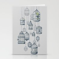 Last Bird In The Shop Stationery Cards