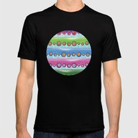 Tentacles Mens Fitted Tee Black SMALL