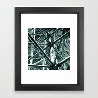 ferris wheel 05 Framed Art Print