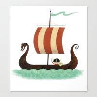 Viking Baby Canvas Print