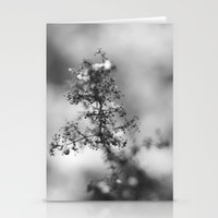 cold thriller Stationery Cards