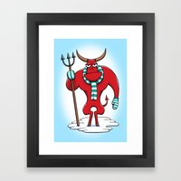 Cold Day In Hell Framed Art Print