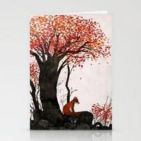 Fantastic Mr. Fox Doesn't Feel So Fantastic Anymore Stationery Cards