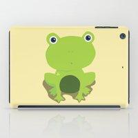 Green Frog iPad Case