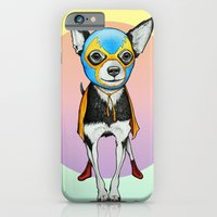 iPhone & iPod Case featuring Chihuahua - Luchador  by PaperTigress