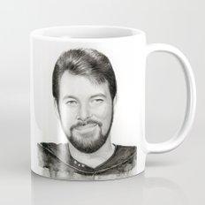 Commander William Riker Mug