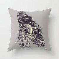 Stranded On Alpha Centau… Throw Pillow