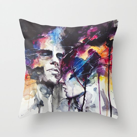 la nostra infinita abnegazione  Throw Pillow