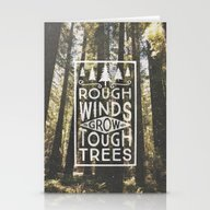 TOUGH TREES Stationery Cards