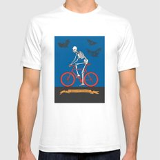 HELL ON WHEELS Mens Fitted Tee White SMALL