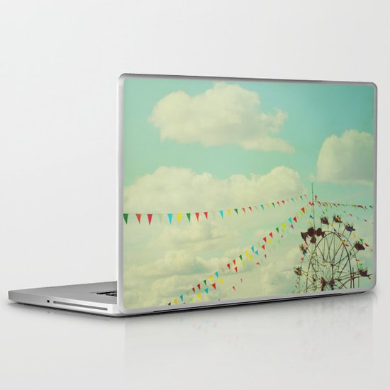 the joy of summer Laptop & iPad Skin