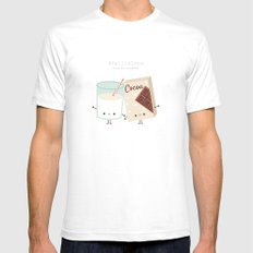 Fall in love - Ingredienti coraggiosi Mens Fitted Tee White SMALL