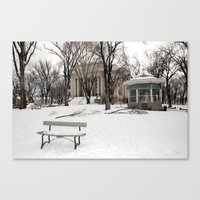 Winter Time - Courthouse… Canvas Print