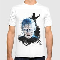 Pinhead: Monster Madness Series  Mens Fitted Tee White SMALL