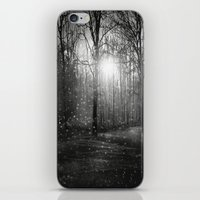 Black And White - In See… iPhone & iPod Skin