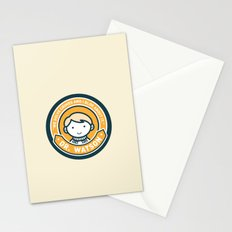 Cute John Watson - Orange Stationery Cards