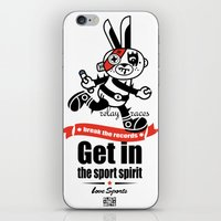 Love Sports_RELAY RACES iPhone & iPod Skin
