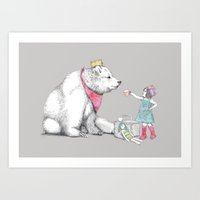 Teddy Bear's Picnic Art Print