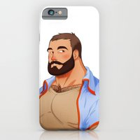 iPhone & iPod Case featuring Bear - Classic by Dronio
