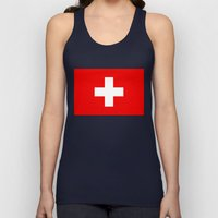 Flag of Switzerland - Authentic 2:3 scale version Unisex Tank Top