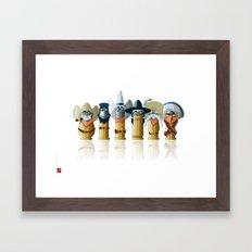 The Toon Bullets Framed Art Print