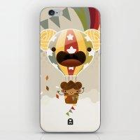 Chestnut Girl Balloon!!! iPhone & iPod Skin