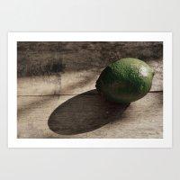 Still Life- Lime Art Print