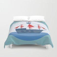 Set Sail Duvet Cover