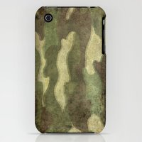iPhone 3Gs & iPhone 3G Cases featuring Dirty Camo with a twist by LonestarDesigns2020 - Flags Designs +