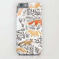 Foxes Field Guide iPhone 6 Slim Case